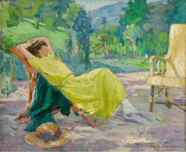 5.-Bessie-Davidson-la-robe-jaune-733x600